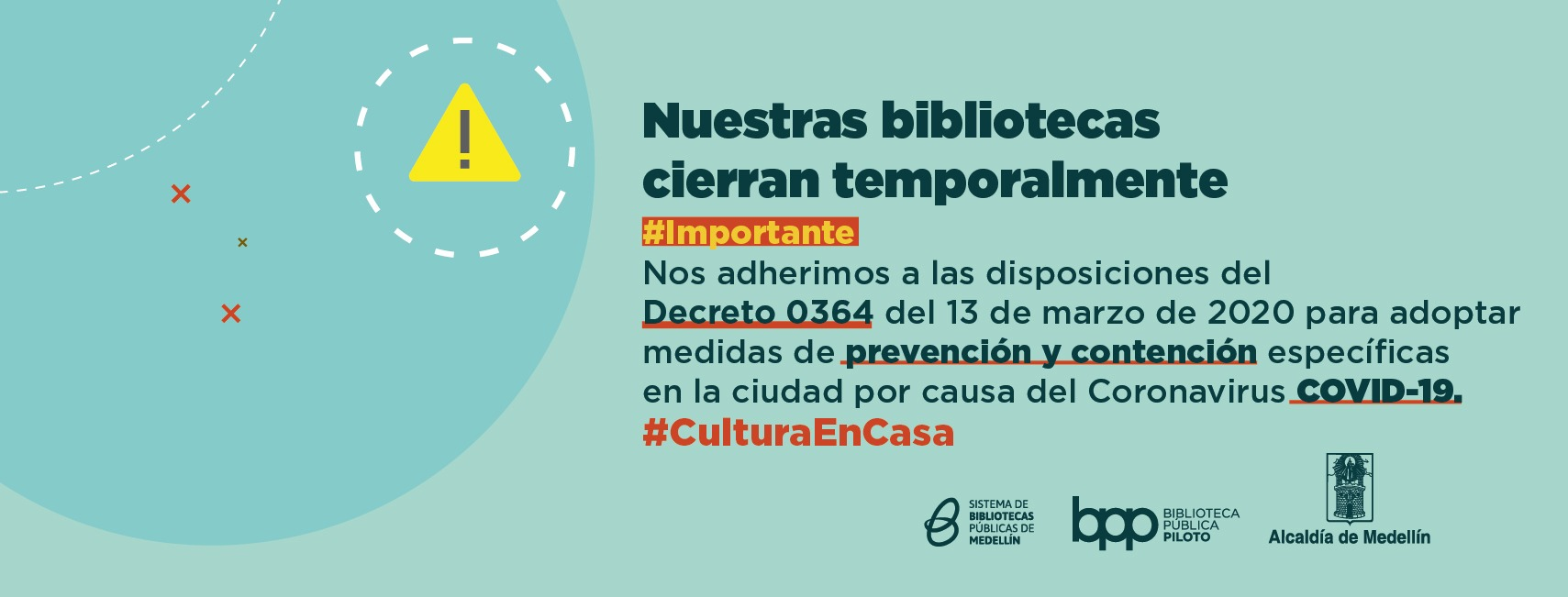 Cierre Temporal Parque Biblioteca Belén