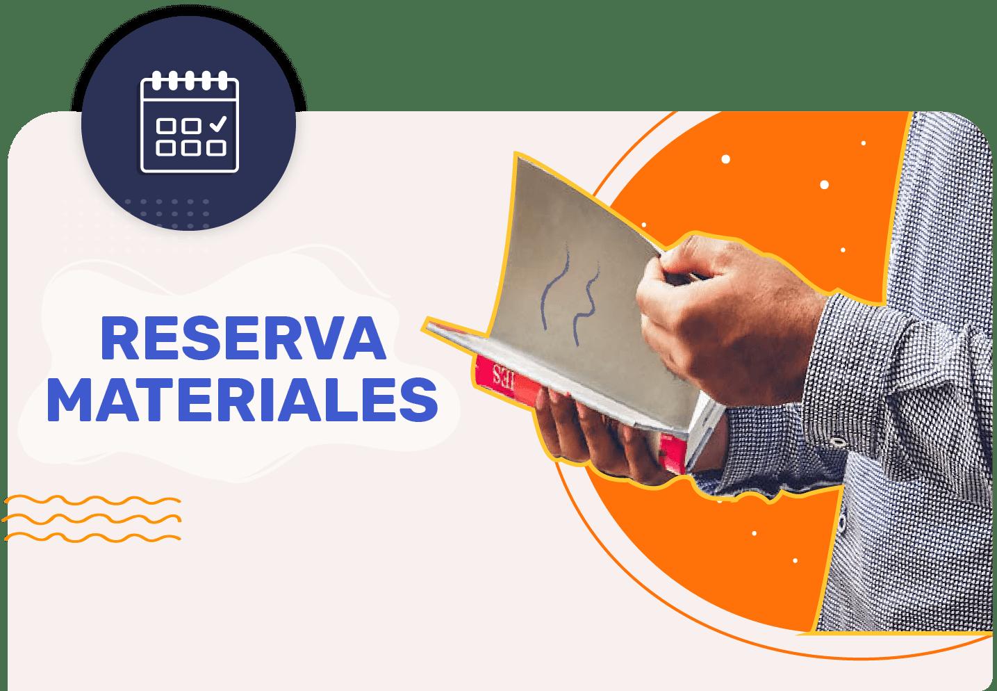 Reserva Materiales - SBPM