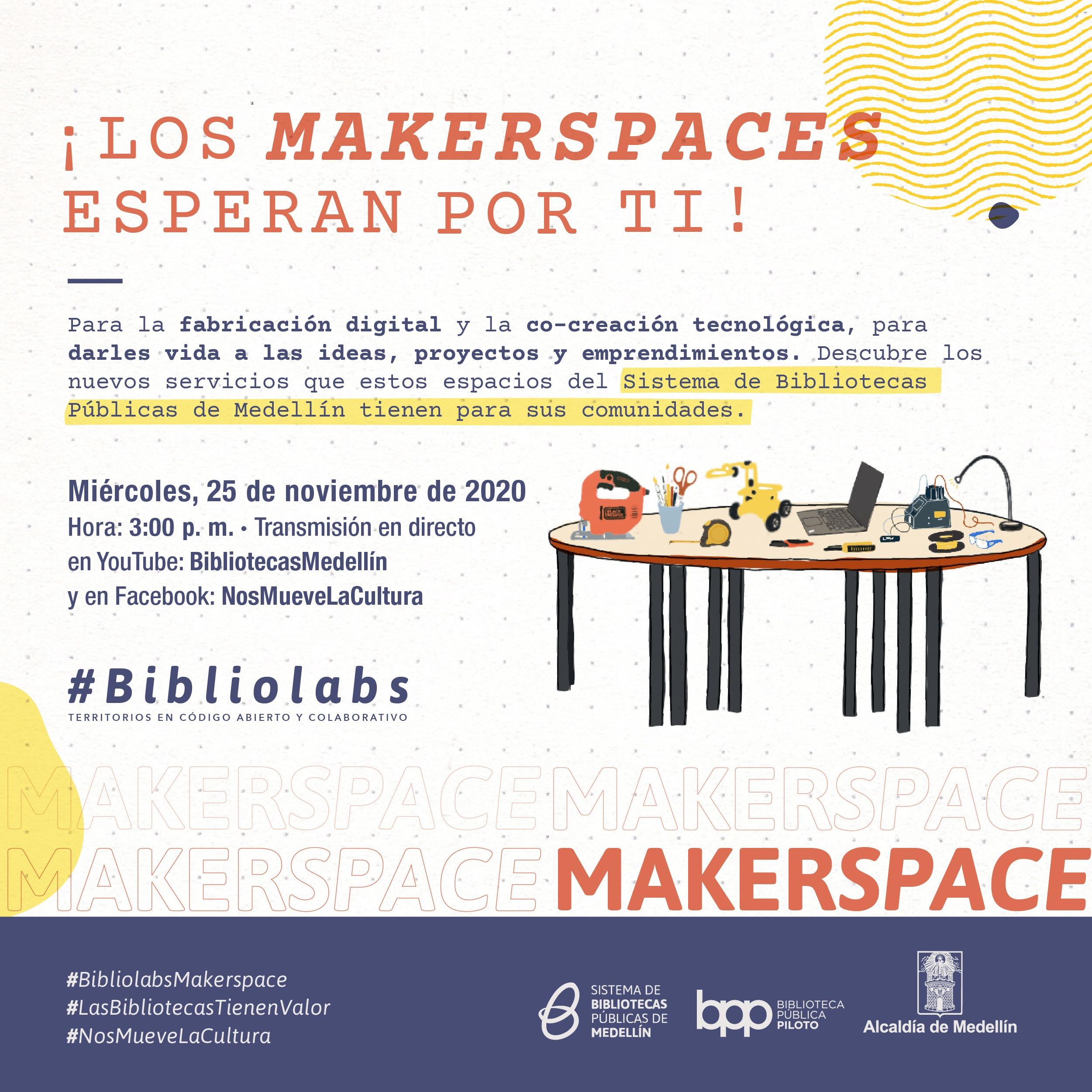 Lanzamiento Makerspaces