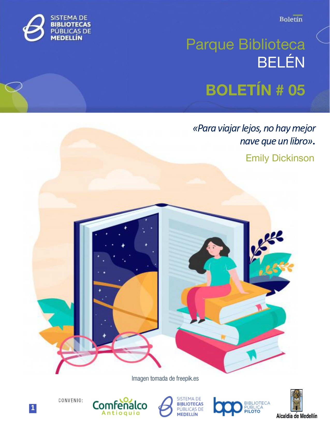 Boletín N°5 – 2021 Parque Biblioteca Belén