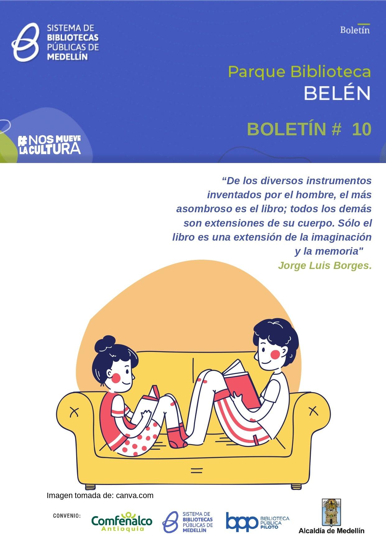 Boletín N°10 - 2021 Parque Biblioteca Belén