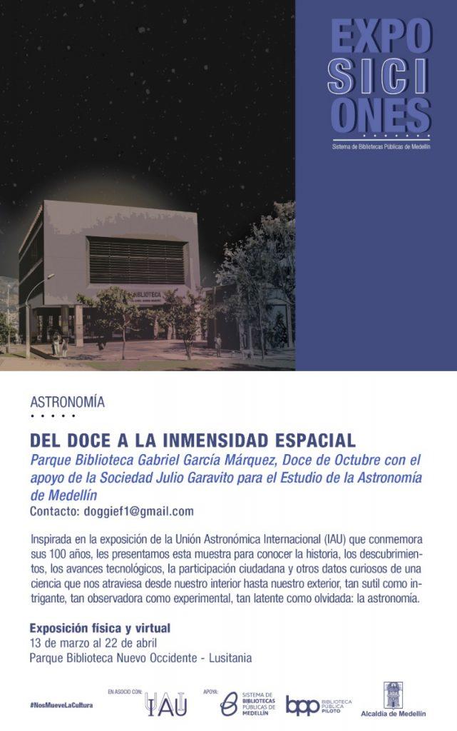 Del Doce a la inmensidad espacial - Exposición