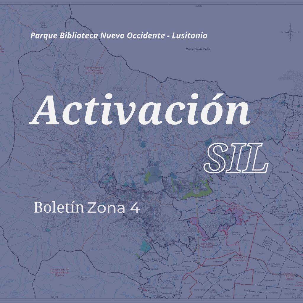 Te presentamos los boletines informativos de las bibliotecas publicas del noroccidente de Medellín.
